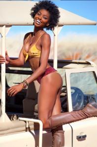 Nigerian model Adaora Akubilo